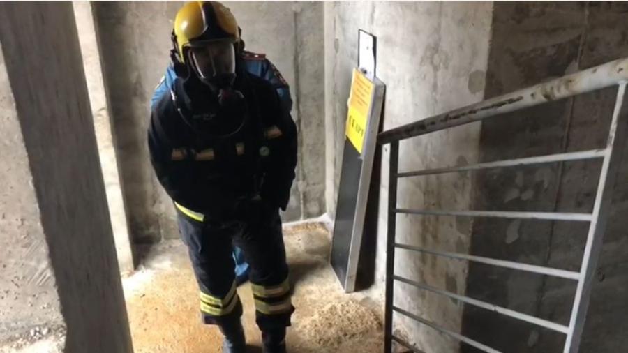 В Обнинске пожарные покоряют 22 этажа «Вертикального вызова»