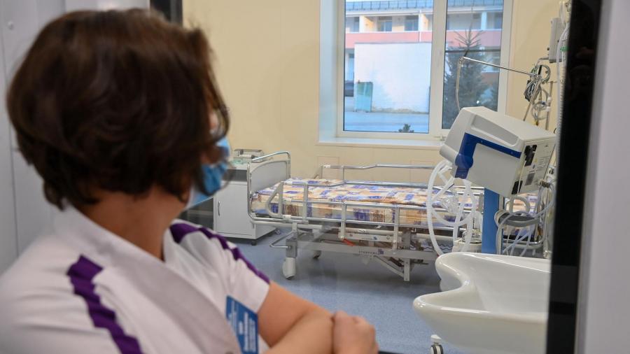 Новый ковидный госпиталь в Калуге практически готов к пуску