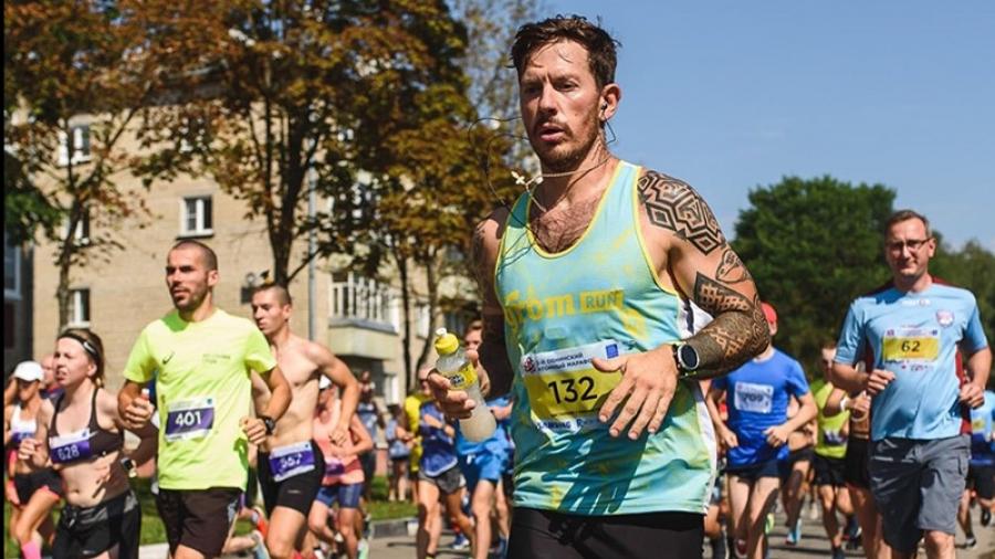 Обнинск на марафонском старте