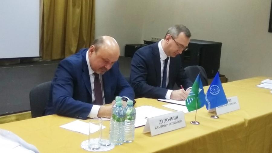 Врамках первой межкластерной конференции Обнинск и Троицк подписали соглашение о сотрудничестве в области науки и инноваций