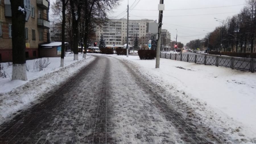 За неделю из Обнинска вывезли 166 кубометров снега