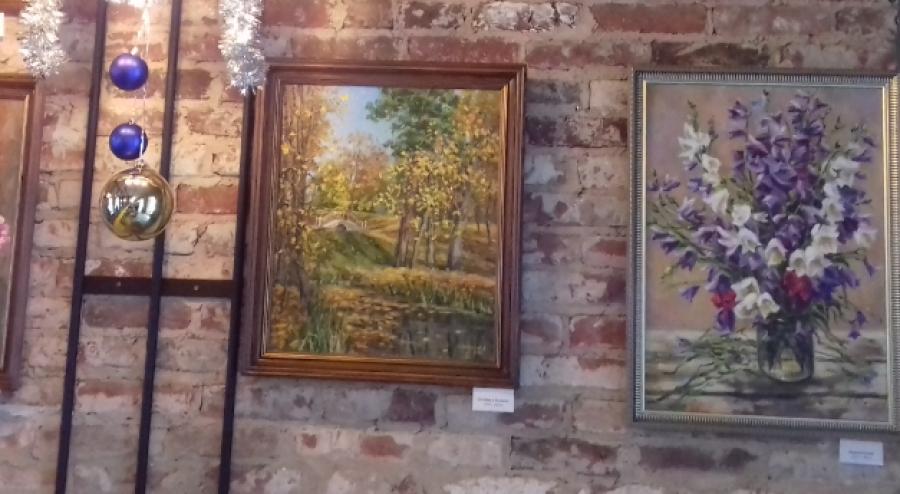 В Обнинске открылась выставка художника Алексея Никитенкова