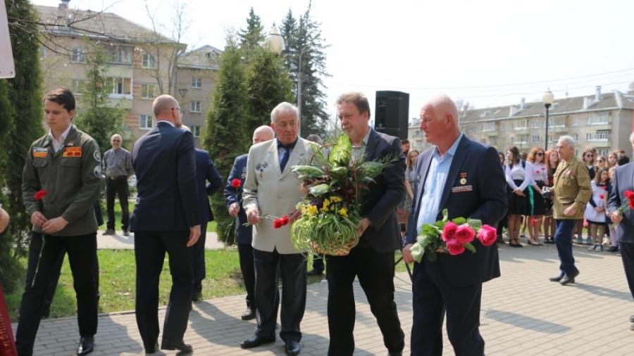 В Обнинске почтили память погибших в радиационных авариях и катастрофах