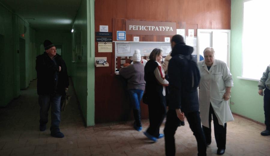 В Боровской ЦРБ начался масштабный ремонт