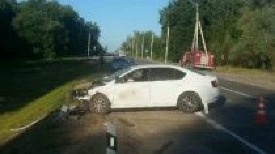 Жесткая авария под Обнинском: есть пострадавший