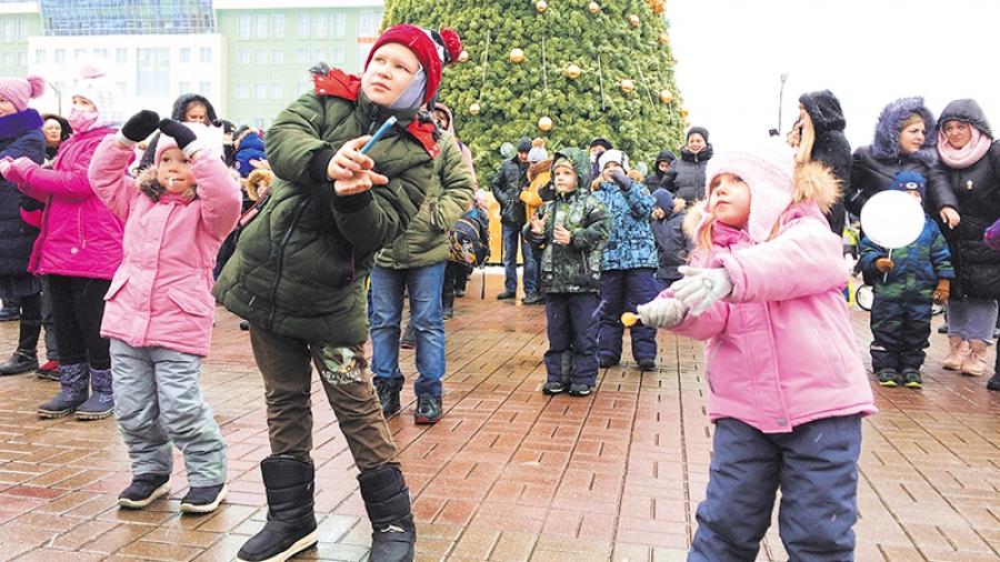 Здравствуй,Обнинск, Новый год!