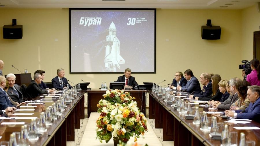 На обнинской «Технологии» прошла встреча участников космической программы «Энергия-Буран»