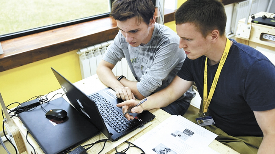 Ребята из «Академии «Технолаб» вышли в полуфинал Всероссийского конкурса «Большая перемена»