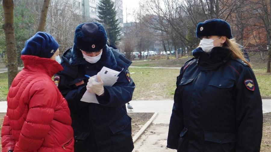 Опасные прогулки: жителей Калужской области начали штрафовать за выход на улицу без уважительной причины