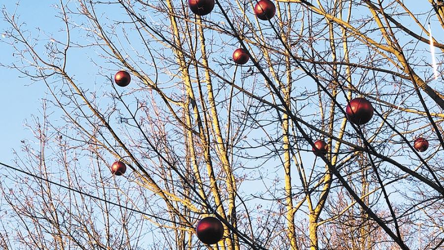 В Обнинске проверяют состояние новогодних украшений