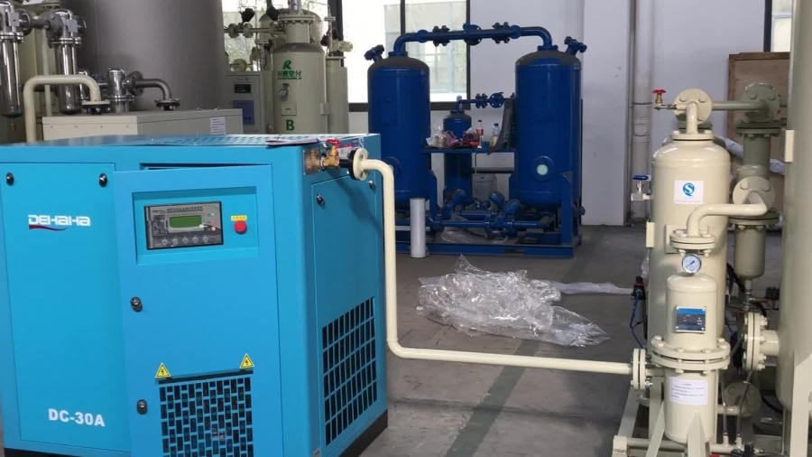 На калужских предприятиях развернут производство медицинского кислорода