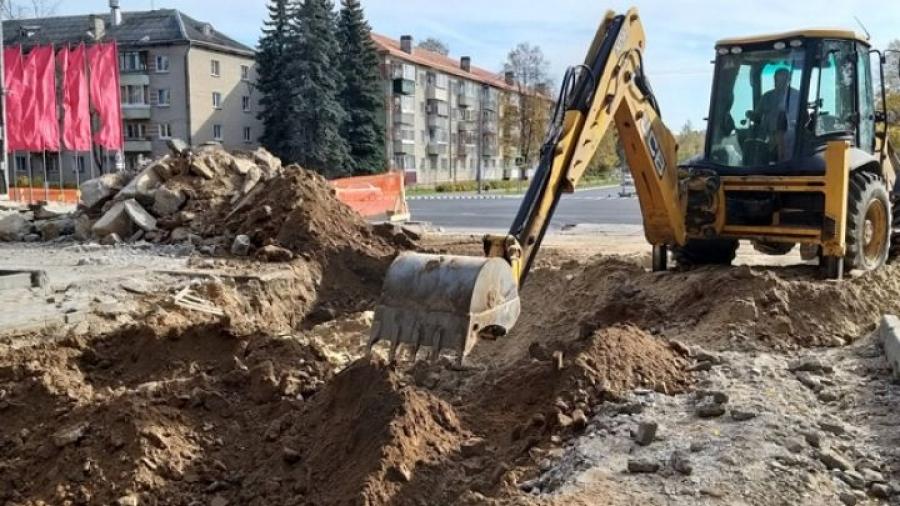 В Обнинске подошла к завершению реконструкция мемориала Вечный огонь