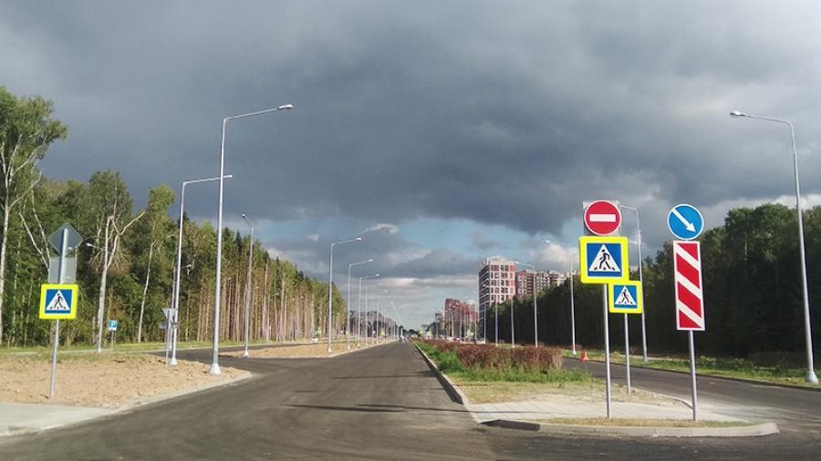 В обнинском Заовражье открыли для проезда продолжение ул. Ленина
