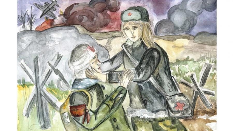 В преддверии 75-летия освобождения области состоится конкурс детских рисунков
