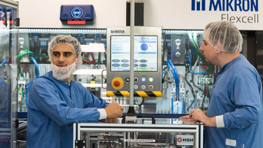 На заводе Ново-Нордиск, входящий в калужский фармкластер, запустили полное производство инсулинов
