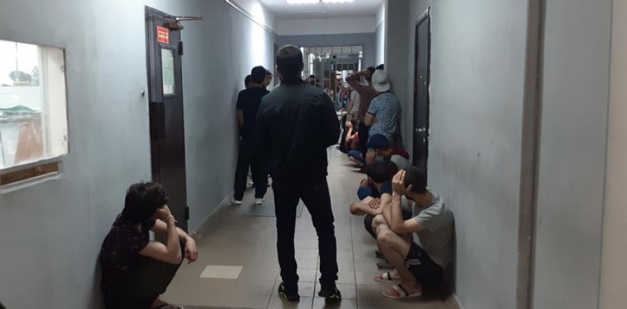 В обнинскую полицию доставили 67 мигрантов