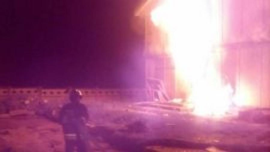 За ночь в Малоярославецком районе произошло три пожара