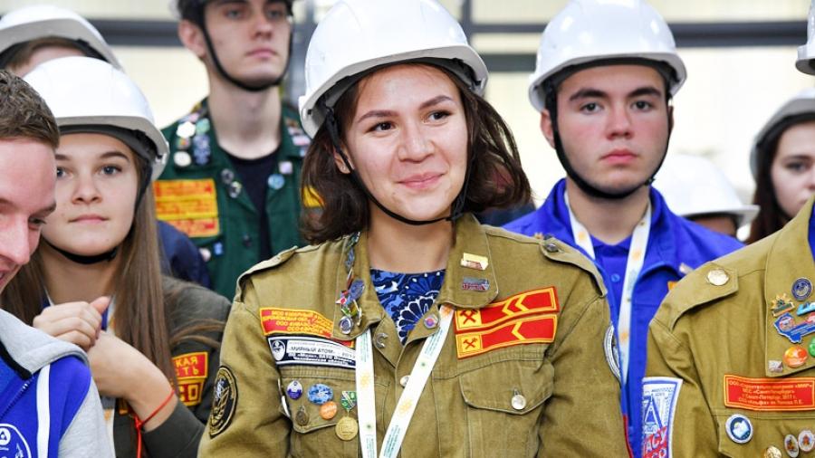 В ИАТЭ отметили 10-летие студенческих строительных отрядов