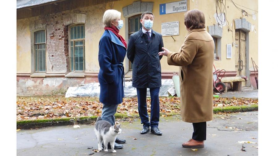 О реконструкции Морозовской дачи в Обнинске задумались на областном уровне