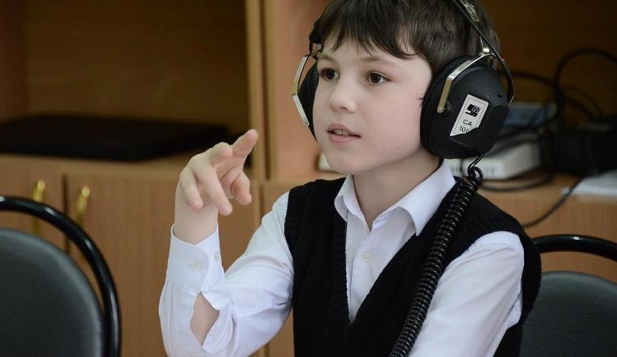 В Калуге организовали дистанционное обучение для глухонемых детей