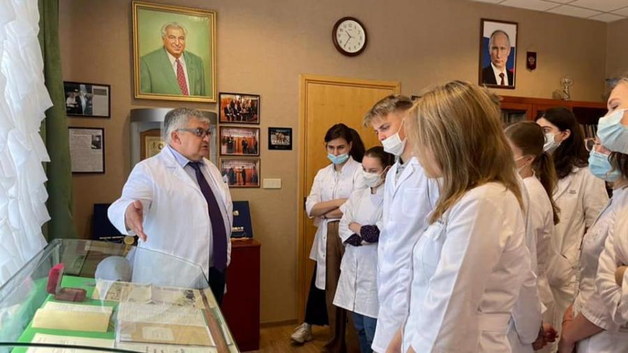 В МРНЦ на стажировку пришли лучшие студенты России, которые показали самые высокие знания в области онкологии