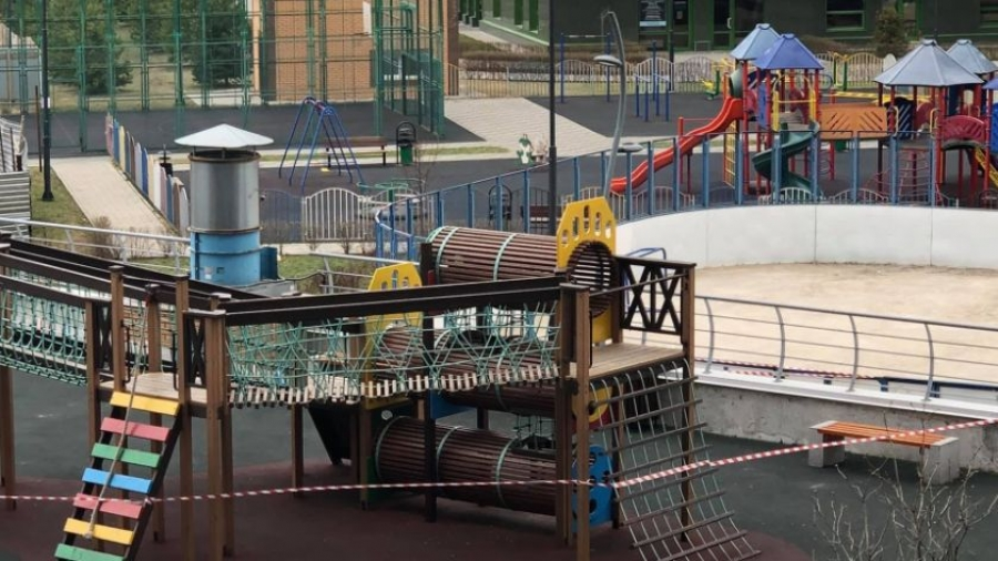 В Обнинске проконтролируют, как оградили детские площадки