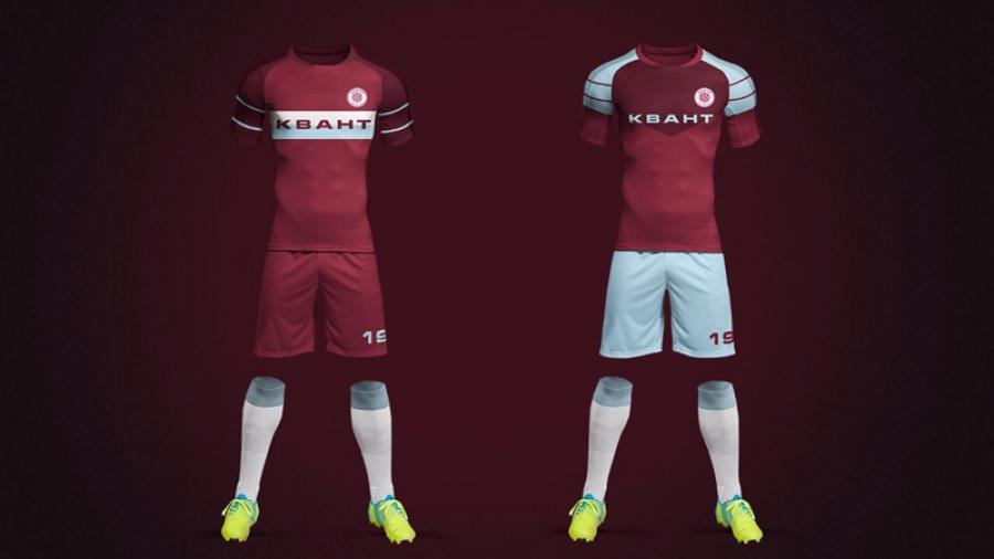 Обнинскому футбольному клубу «Квант» предложили поменять образ — логотип, форму и атрибутику