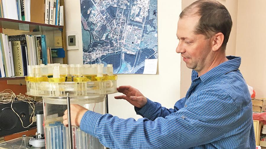В обнинском музее собрали реактор с бериллиевым замедлителем