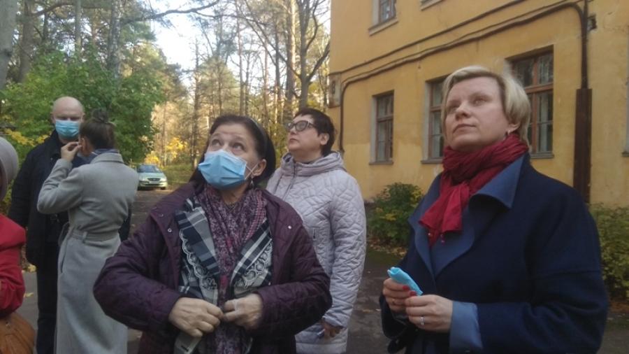 Татьяна Леонова знакомится с проблемами Обнинска