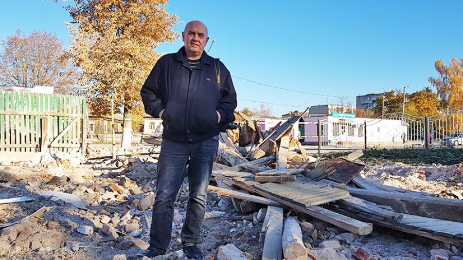 Уходящая натура: в Боровске спешно сносят старинные здания XIX века.