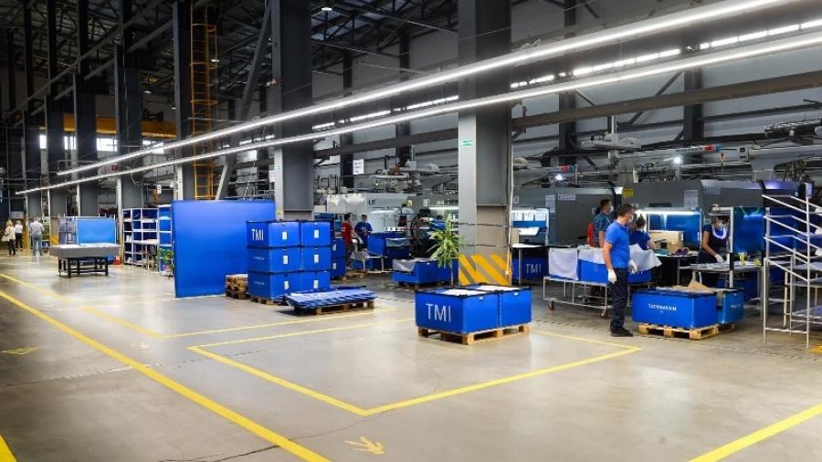 В индустриальном парке Ворсино запустили полный цикл производства завода пластиковых изделий «Техмашимпекс»