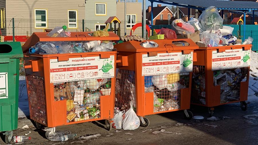 Обнинцы жалуются на плохой вывоз раздельно собранных отходов