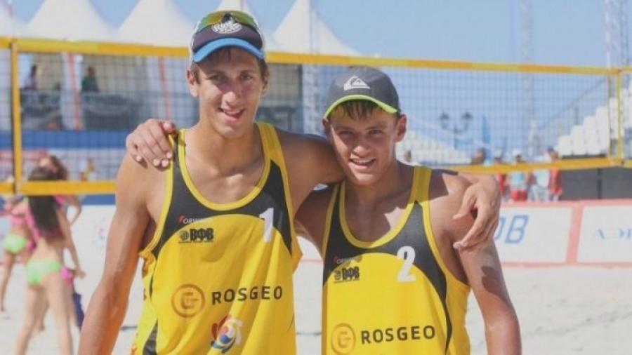 Обнинские пляжники заняли 5-е место на Чемпионате Европы в Голландии