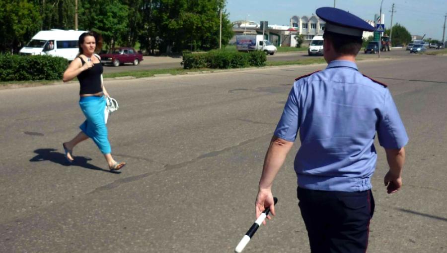Сегодня в Обнинске гаишники займутся пешеходами