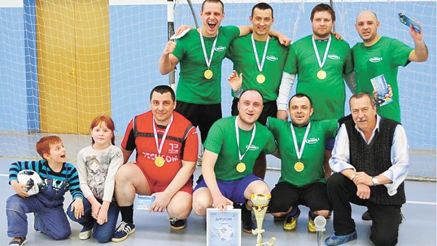 На НЛМК-Калуга состоялся заводской турнир по футболу