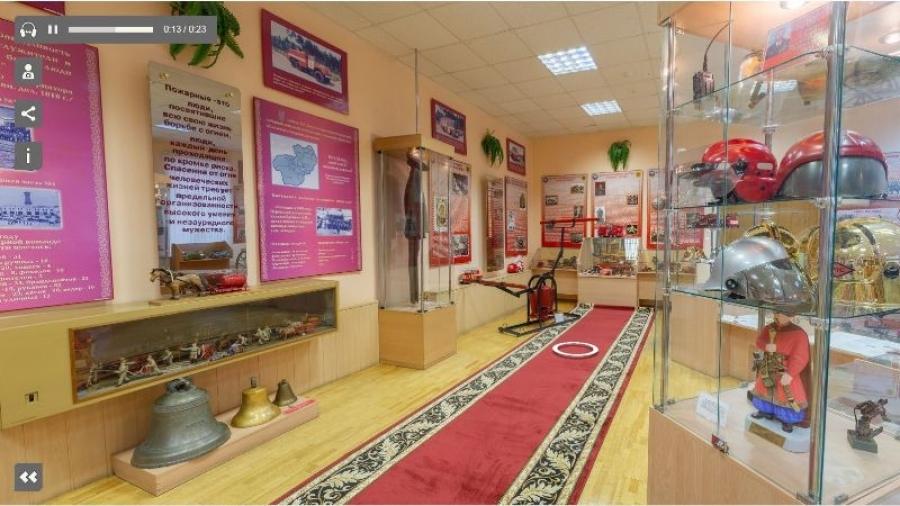 ГУ МЧС по Калужской области создало виртуальный тур по своему музейно-выставочному центру