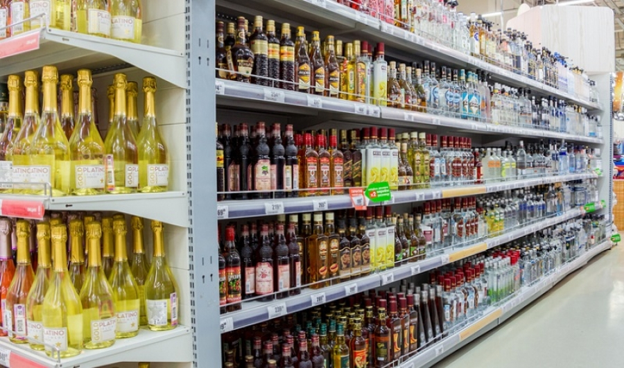 В обнинском гипермаркете поймали воришку элитного алкоголя