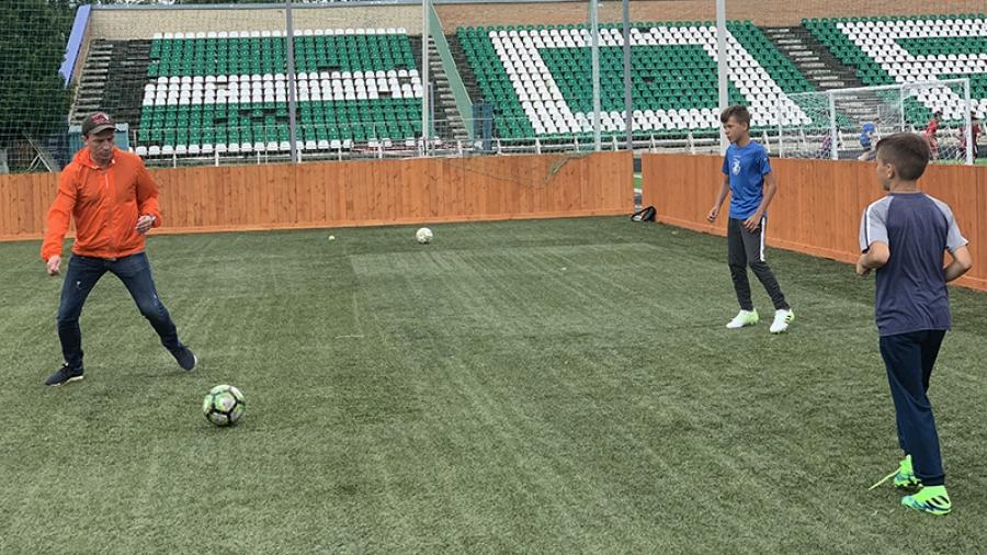 Обнинская Федерация футбола в ближайшие дни передаст спортшколе «Квант» оборудованную площадку для тренировок