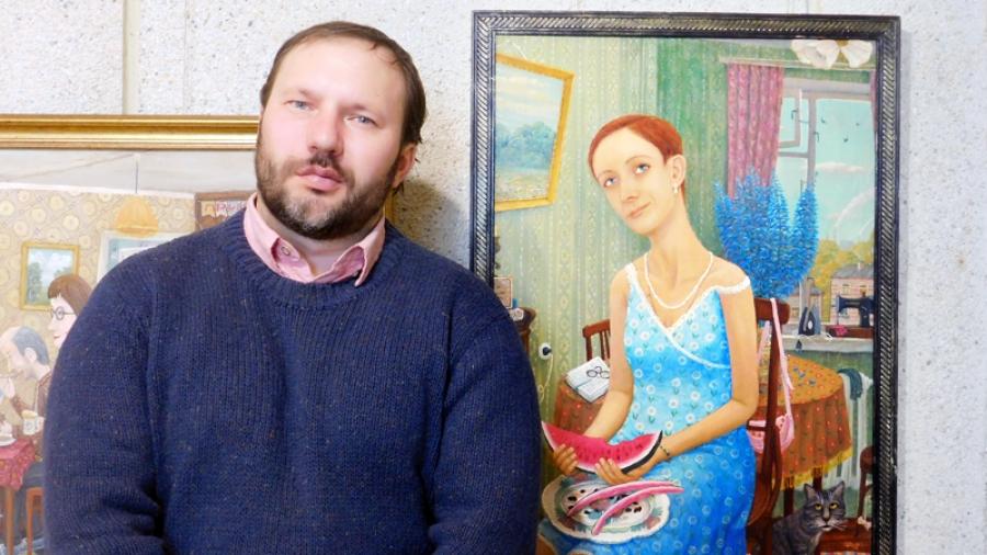 Обнинский художник Юрий Шеров: «Мои работы — это зеркало провинциальной русской жизни»