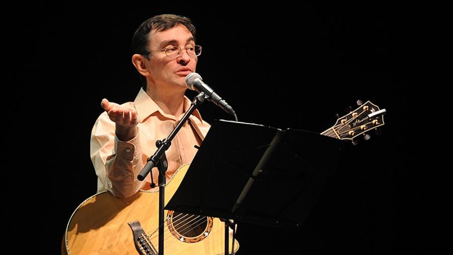 28 марта на сцене обнинского ДК ФЭИ выступит бард Тимур Шаов