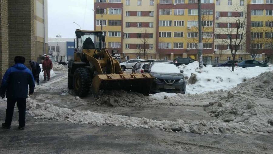 Обнинские коммунальщики продолжают работу в усиленном режиме