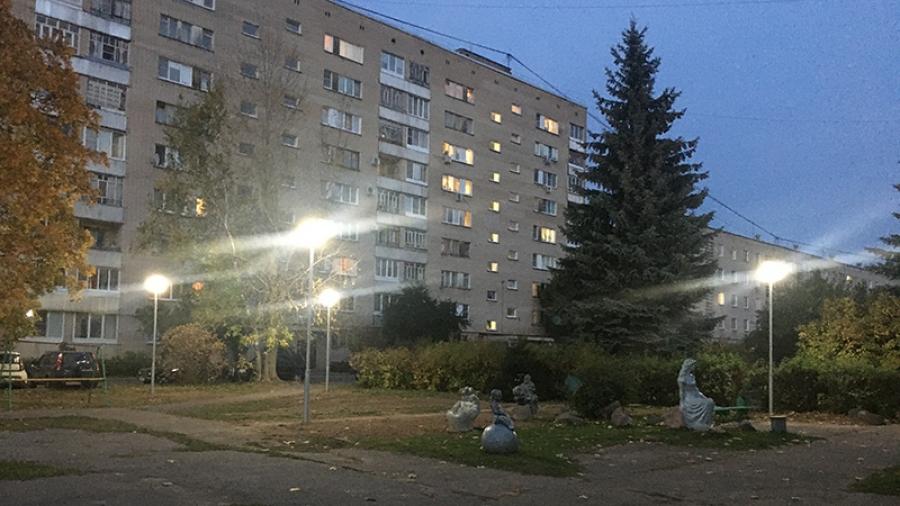 В этом году центральные улицы Обнинска засияли белым светом