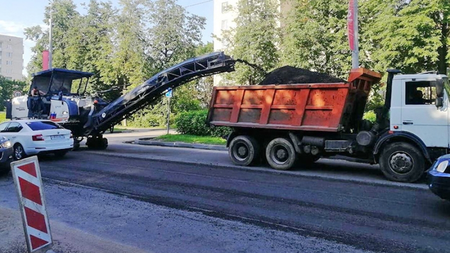 Ремонт дорог в Обнинске должны завершить к 1 августа