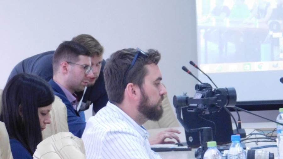 В Обнинске прошел телемост молодых атомщиков
