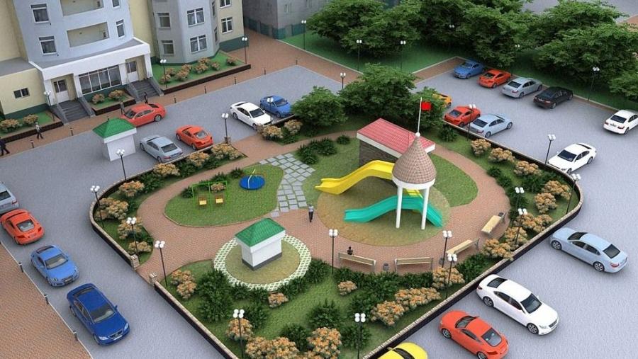 В Обнинске средства на благоустройство двора собирают с помощью краудфандинговой площадки