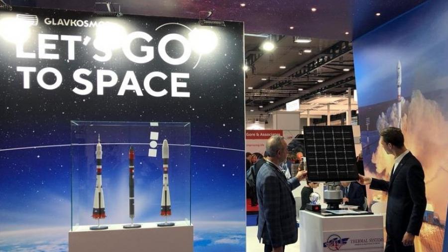 Обнинская«Технология»представила супер-легкий каркас солнечных батарей на выставкеSpace Tech Expo Europe-2019