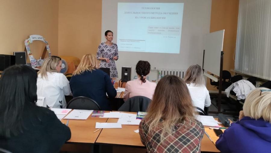 Педагог обнинской школы победила в конкурсе «Я в педагогике нашел свое призвание…»