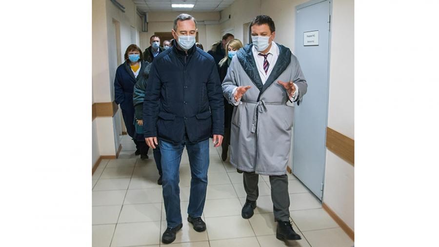 В Калужской области наращиваются медицинские мощности для отражения коронавирусной атаки