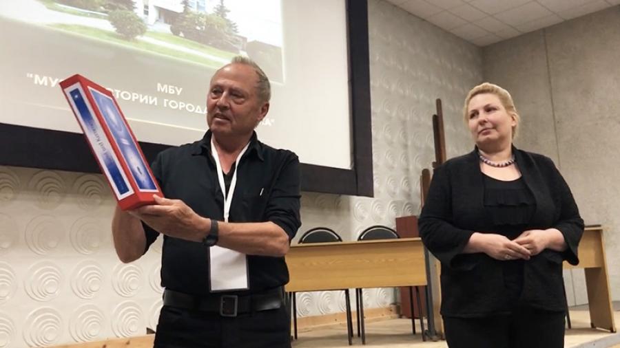 Немецкий теплофизик Петер Кролль предложил обнинцам вместе создавать музеи атомной энергетики