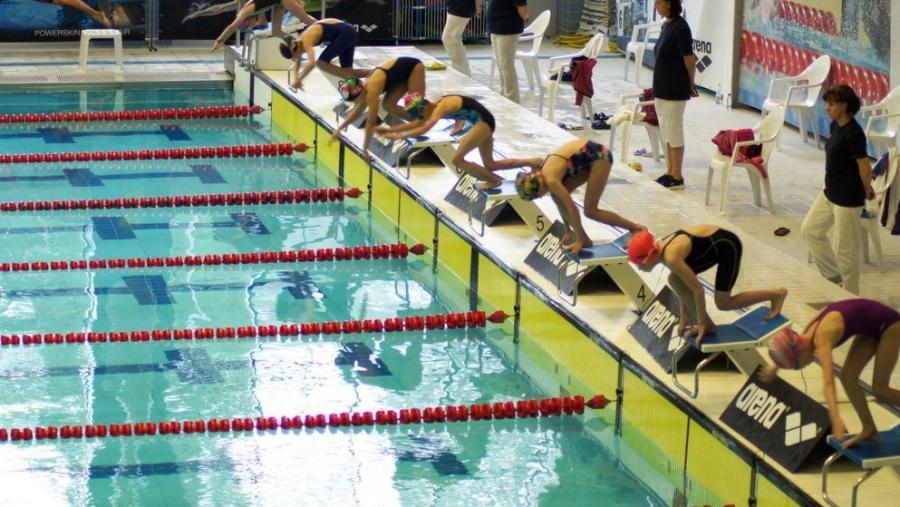 В Обнинске стартовал международный детский турнир по плаванию «ARENA — WATER INSTINCT»
